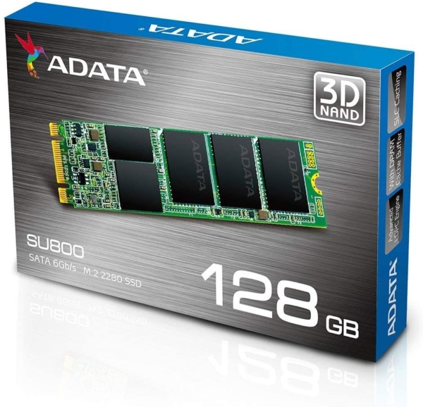 ADATA SU800 128GB SSD M2 2280 3D NAND