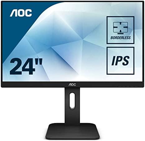 AOC 24 16 10 1920X1200 60HZ VGA-DVI-HDMI-DP NERO