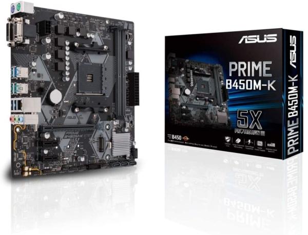 ASUS MB PRIME B450M-K