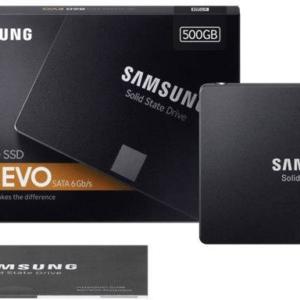 SAMSUNG SSD 860 EVO 500GB 2.5 SATA 6 GBS V-NAND